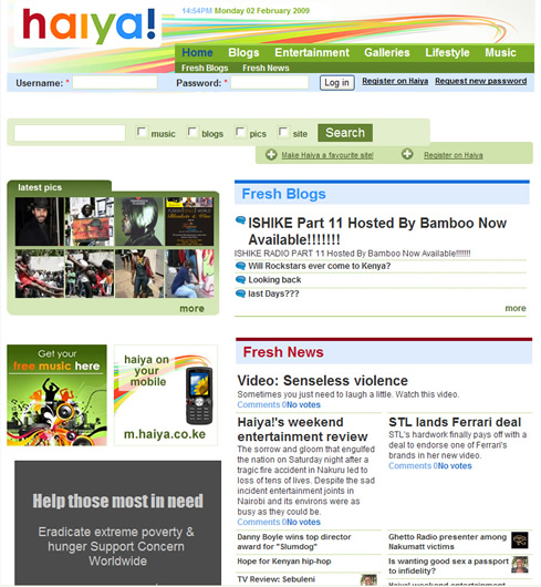 haiya website design cape town web design